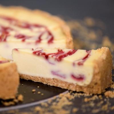 New York Cheesecake Βατόμουρο