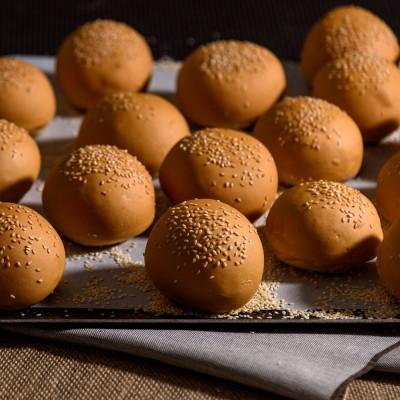 Brioche Σουσάμι mini Bun (10 τμχ)