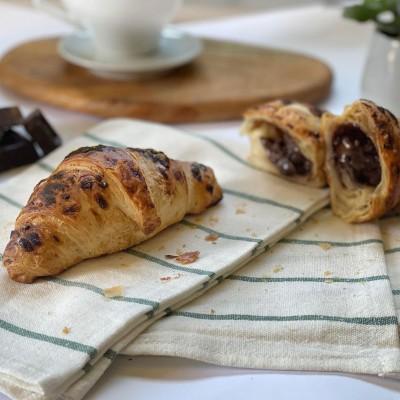 Γαλλικό Κρουασάν Βουτύρου Σοκολάτας (8 τμχ)