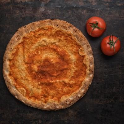 Βάση Πίτσας με σάλτσα τομάτας (2 τμχ)